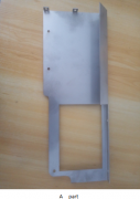 Metal bending parts -power unit holder for cropview device