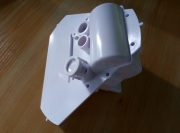 White UV resistent plastic parts for Lora rain gauge